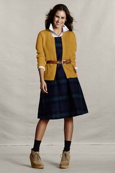 3f2bfce0ad Lands  End Canvas Holiday Look - Mohair Zip Sweater Jacket in Mineral Yellow