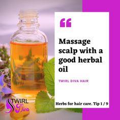 Herbs For Hair, Herbal Oil, Herbalism, Massage, Hair Care, Water Bottle, Drinks, Tips, Beverages