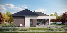 Projekt domu HomeKONCEPT-32 | HomeKONCEPT New House Plans, New Homes, How To Plan, Outdoor Decor, Design, Home Decor, Houses, Home, New Home Plans