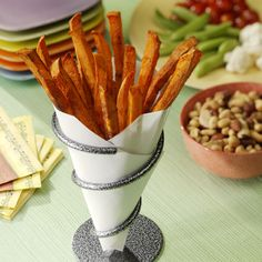Sweet Potato Fries: A flavorful and healthful alternative to traditional fried potatoes