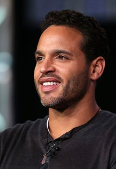 Daniel Sunjata! He's fine with and without facial hair.