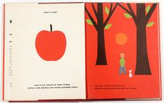 What is Red? Illustrated by Vladimir Bobri.