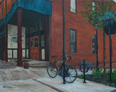 """""""Washington and Laurens"""" by Patricia Thomas   Visual Artist in Greenville, SC"""