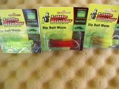 LITTLE STINKER DIP WORMS 2 PACK FOR USE ON ALL FISHING DIP BAIT http://fishingbaitslures.com/products/little-stinker-dip-worms-2-pack-for-use-on-all-fishing-dip-bait