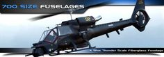 700 Size Scale RC Helicopter Fuselages - RC Aerodyne | Scale RC Helicopters, Airplanes & Parts Store