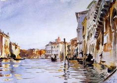 John Singer Sargent The Grand Canal
