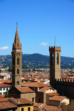 the view from Palazzo Vecchio, Firenze, Italy 피렌체 베키오 궁전에서 바라본 풍경 - Photo by Gomto ( Korea)