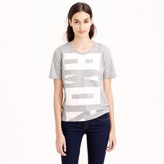 "Inspired by the graphic look of nautical flags, we gave this tee a little extra love with a cool vertical layout. <ul><li>Slightly loose fit.</li><li>Body length: 24 1/4"".</li><li>Cotton.</li><li>Machine wash.</li><li>Import.</li></ul>"