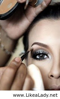 Smokey eyes -- this is like I did last week in NY. This pin might help me do it better