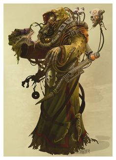 Magos Xenologist by ~ning on deviantART in Characters, Animals & Monsters - definitely reminds me of someone...hmmmmm...
