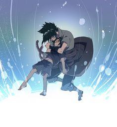 Naruto, Sasuke, Kid