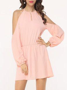 Fashionmia sequin pink dress - Fashionmia.com