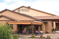 Everything about ROCO winery speaks to perfection including its personal, engaging tasting experience Oregon Wine Country, Willamette Valley, Southern, Outdoor Decor