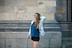 """Outfit Klara Fuchs // """"Ich habe aber nicht genug Selbstvertrauen, um mich das zu trauen"""", dann tues trotzdem. Das hatte ich früher auch nicht, doch aus der Erfahrung wächst das Selbstvertrauen! 6 DINGE, DIE ICH MEINEM JÜNGEREN ICH SAGEN WÜRDE AUF: www.klarafuchs.com"""