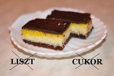 Kókuszos szelet (liszt és cukor nélkül) Kefir, Cake Cookies, Cheesecake, Gluten Free, Cukor, Food, House, Diets, Glutenfree