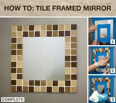 Bathroom mirror frame - Possibly