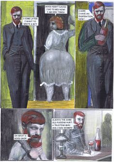 Mehr noch als die Untreue seiner Frau quälten D.H. Lawrence Schreibblockaden. Beides zusammen gab eine explosive Mischung, die sich nicht selten in Gewalt entlud.