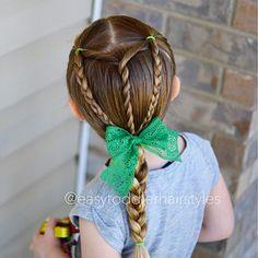 Peinados trenzados para niñas