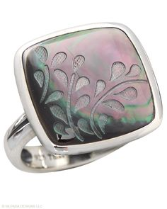 Silpada Designs - Abalone ring. So feminine and pretty.