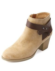 Stylish Booties, Ankle Boots & Combat Boots: Charlotte Russe - 38.99