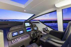Pershing 62 - Interior - Pilot house