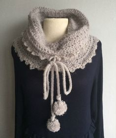 snood gris Snood Tricot, Tricot Femme, Tuto Tricot, Mode Tricot, Echarpe  Snood 70587783052