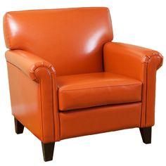Home Loft Concepts Bonded Leather Chair | Wayfair