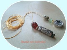 Blythe doll Golden colour pull charms cord*   * 2 meter *  * new *