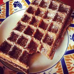 Mardi gras, Gourmandises ! Gaufres au chocolat miam !!