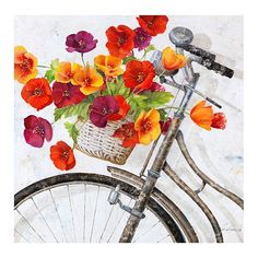 Fleur de la Mart Giclee - wall decor, art,  $199.00
