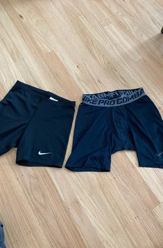 Great condition 2 pairs of Nike Pro Combat Compression short (1 navy, 1 black)  1 pair of Nike Dri-Fit compression short  Women's size Medium in black Comes from smoke and pet free home Nike Shorts, Gym Shorts Womens, Nike Pro Combat, Compression Shorts, Nike Pros, Nike Dri Fit, Pairs, Smoke, Navy