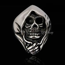 Sons of Anarchy Rings | ... Gothic Skull Death Grim Reaper Sons of Anarchy Stainless Steel Ring