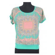 bluza cu verde V Neck, T Shirt, Women, Fashion, Green, Supreme T Shirt, Moda, Tee, Women's