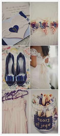 Love everything about this wedding