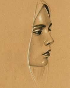 Lapis Drawing – 75 Picture Ideas – Drawing Ideas and Tutorials Unique Drawings, Pencil Art Drawings, Realistic Drawings, Drawing Sketches, Face Sketch, Art Visage, Pastel Drawing, Portrait Art, Face Art