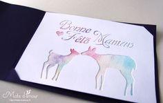 Watercolor behind papercut