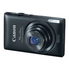 Win a Canon PowerShot ELPH 300 HS 12.1 MP Digital Camera (Black) – Pin It to the Win It Giveaway