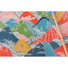 KATAZOME shi 65g/m2 Hokusaï - Les papiers de Lucas Washi, Origami, Art Graphique, Decoration, Printing On Fabric, Kids Rugs, Quilts, Blanket, Fabrics