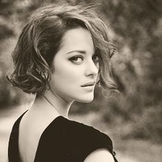 Marion Cotillard--I think this is what I'm going to do for my next haircut