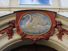 House Signs in Prague. — The Forgotten Garden