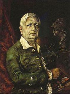 Chirico, Giorgio de (1888-1978) - Self-Portrait with Head of Minerva (Metropolitan Museum of Art, New York City), via Flickr.