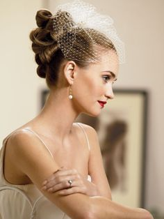 Sophisticated updo