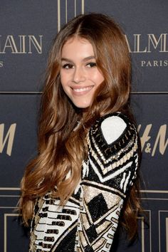 Kaia Gerber's hair color is the perfect natural-looking brown. It's a great…