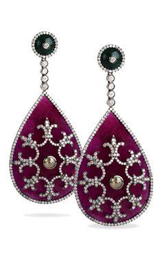 Axum Earrings by Bochic - Moda Operandi