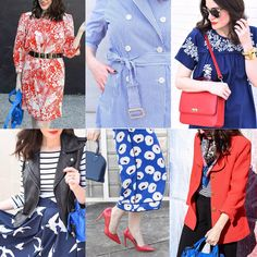 Red, white & blue // 4th of July Outfit Inspiration