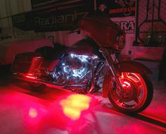 2 zone LED motorcycle accent lighting