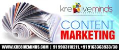 Affordable Content Marketing Service only at http://www.kre8iveminds.com/