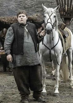 Young Hodor. Named Waldor at the time...
