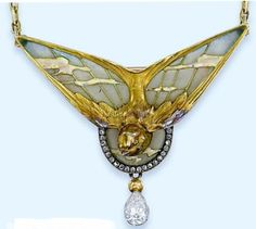 Gautrait Art Nouveau pendentif | ART NOUVEAU