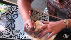 Bisque Imports presents 6 Easy ways to use Crafters Workshop stencils
